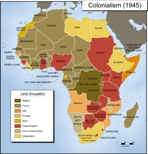 Colonialism-1945-Map
